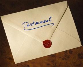 Pacs Et Heritage Rediger Un Testament Modele De Testament De