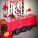 En rouge et noir : la jolie fiesta de Léna sur le thème de l'Espagne