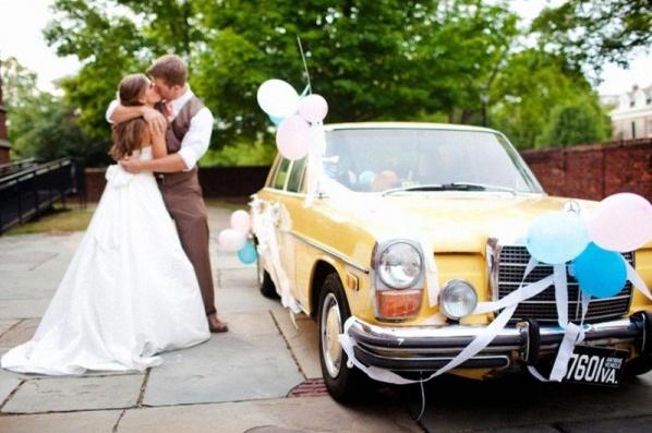 décoration voiture mariage Archives , Joli PACS