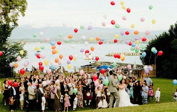 décoration mariage ballons
