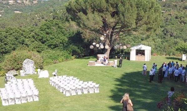 cérémonie en plein air