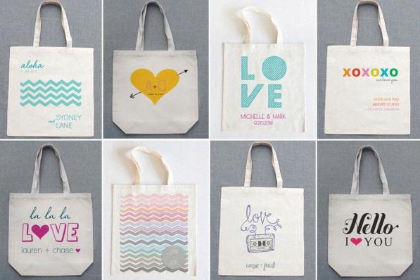 tote bag personnalisable cadeau d'invité