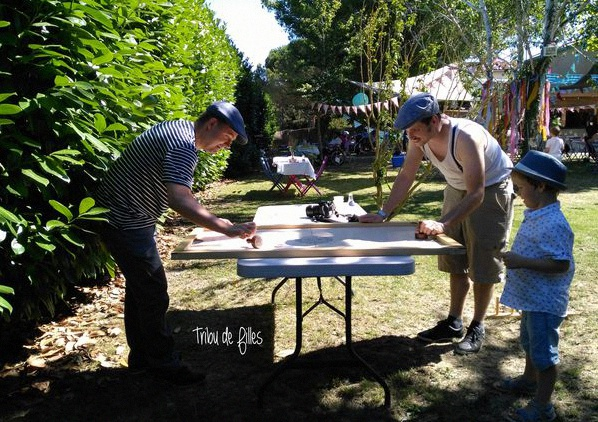 jeux géants garden party