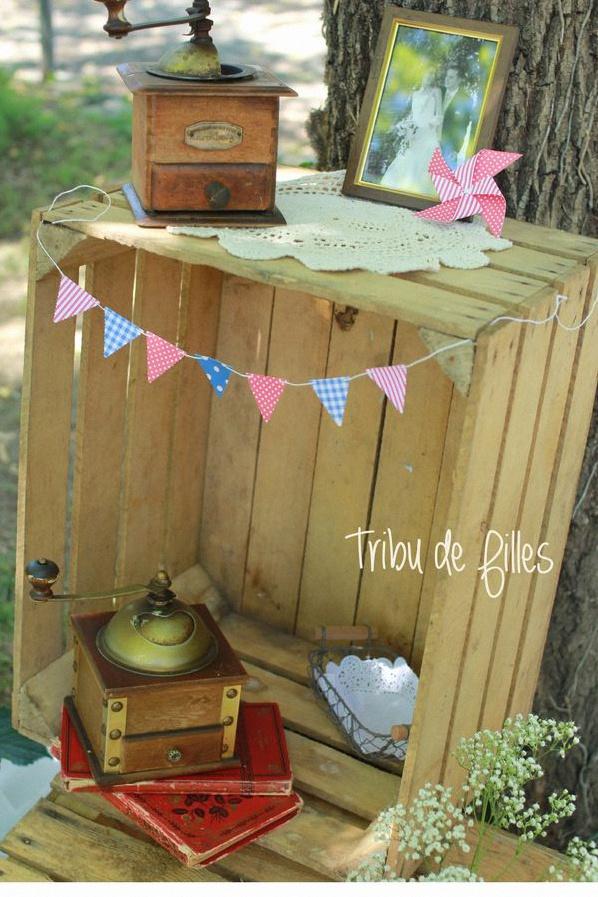 décoration garden party