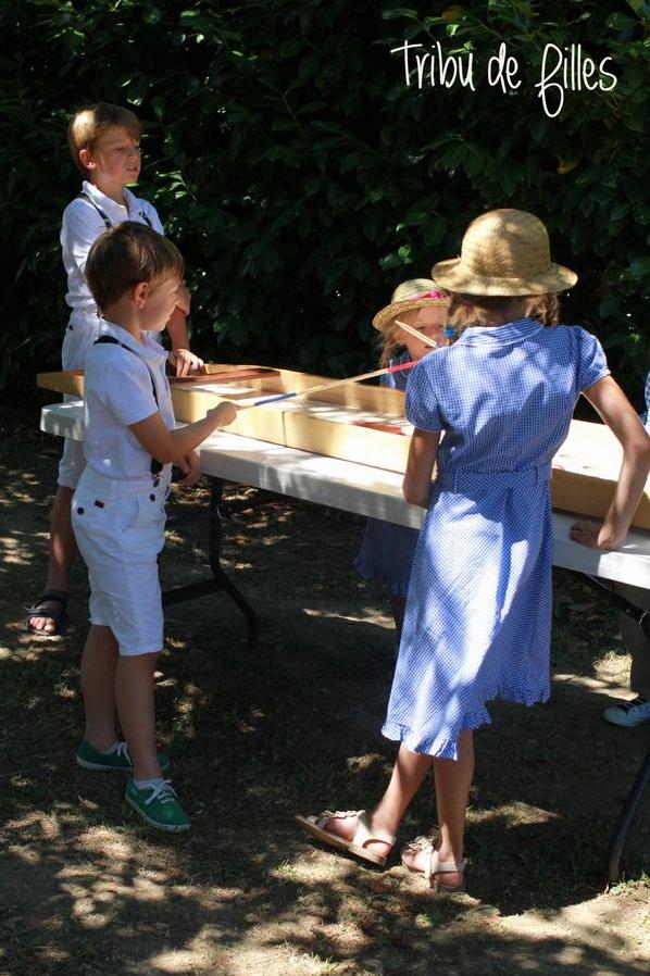 garden party jeux en bois