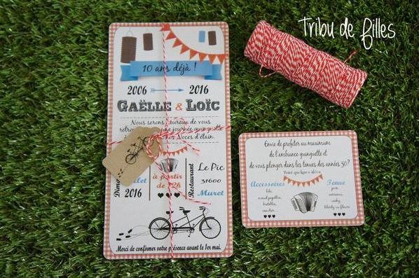 invitation guinguette tandem