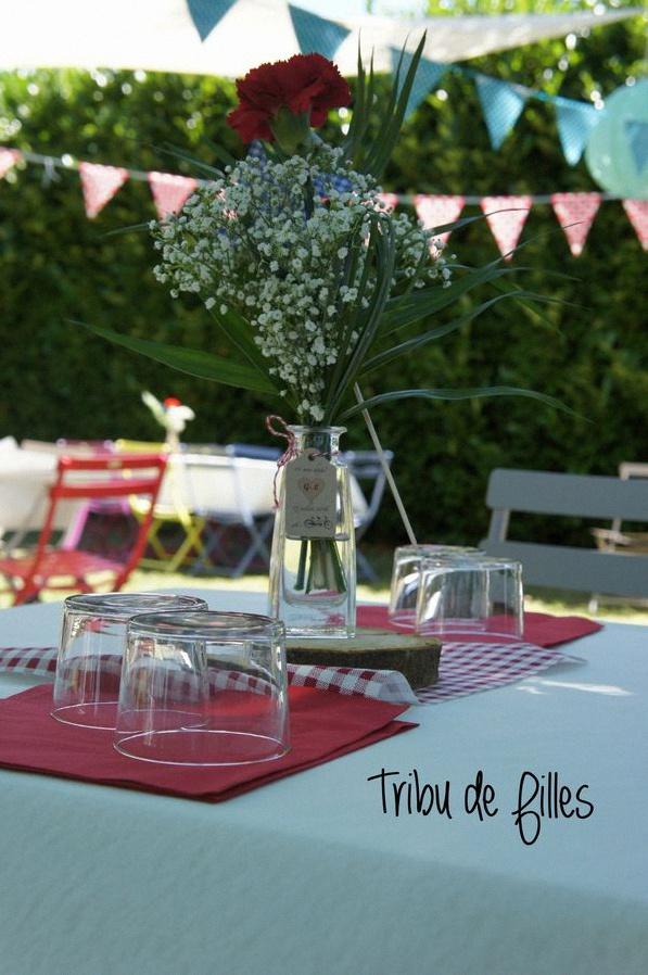 décoration garden party vintage champêtre