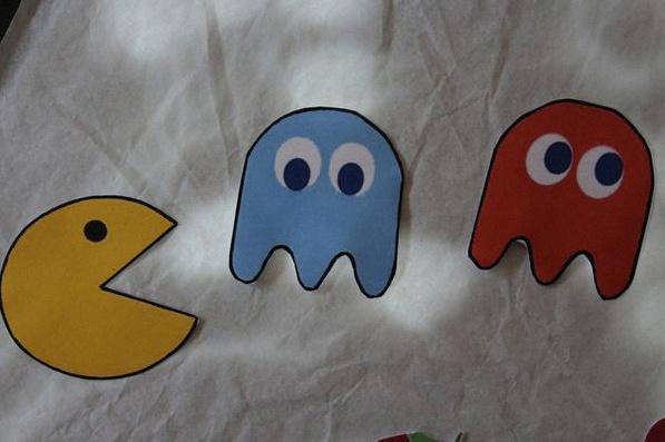 décoration geek pacman