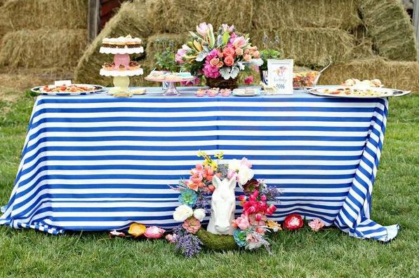 garden party rustique champetre