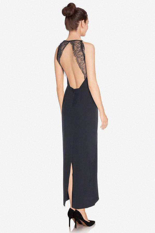 10 petites robes noires pour aller une f te ou une soir e - Robe dentelle dos nu ...