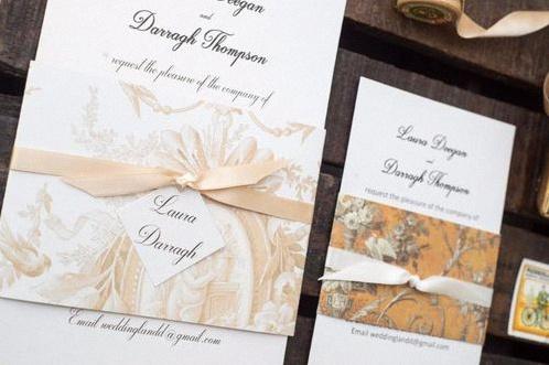 papier peint déco mariage
