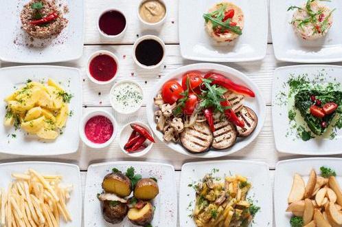buffet vegan pacs
