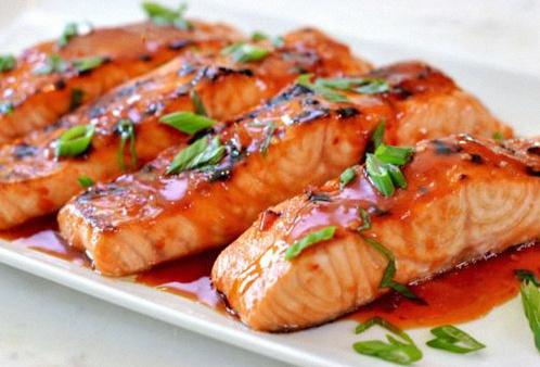 saumon thai