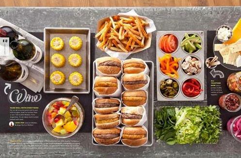 buffet américain
