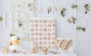 5 jolies idées pour une décoration sur le thème Blanc et doré